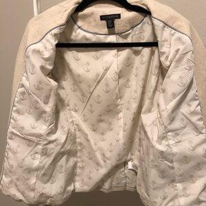 British Khaki Jackets & Coats - LIKE NEW | British Khaki Cotton/Linen Blend Blazer